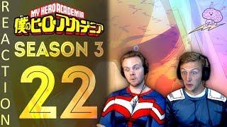 SOS Bros React - My Hero Academia Season 3 Episode 22 - Deku/Bakugo Tension!!