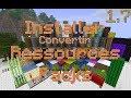 - Minecraft 1.7.2 - Installer/Convertir Ancien Texture Pack - Resources packs - FR HD -