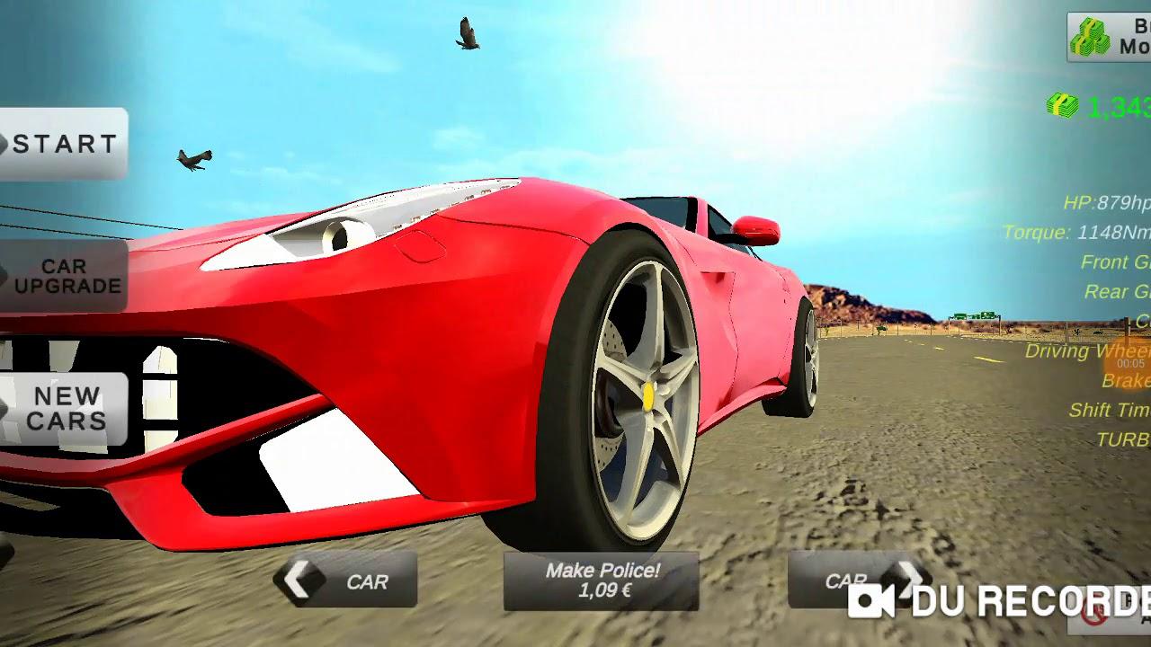 Driving The Ferrari F12 Berlinetta Car Parking Multiplayer 4