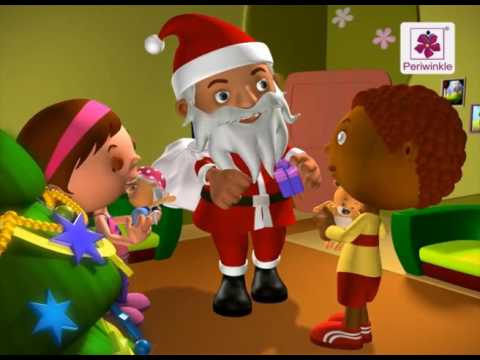 X' Mas Tree | 3D English Nursery Rhyme for Children | Periwinkle | Rhyme #71