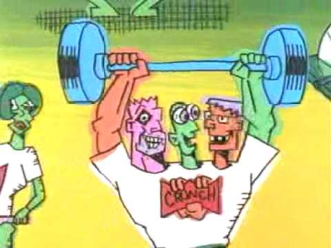 Crunch Fitness UNAIRED Gary Panter commerical