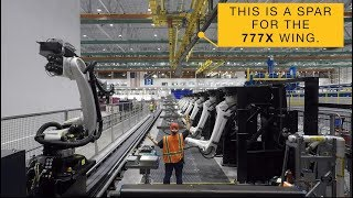 How Boeing Tests the Wing Spars of the 777X