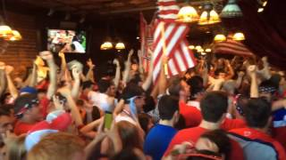 Local US soccer fans react to late goals in World Cup match against Portugal