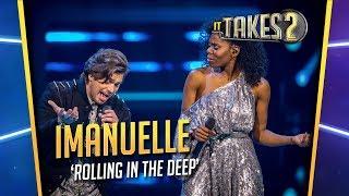 Finale It Takes 2: Imanuelle Grives & Waylon zingen Rolling In The Deep