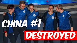 G2 DESTROYED CHINA #1 RNG UZI | WORLDS 2018 | EU WILL WIN WORLDS?! | League Stream Highlights #154