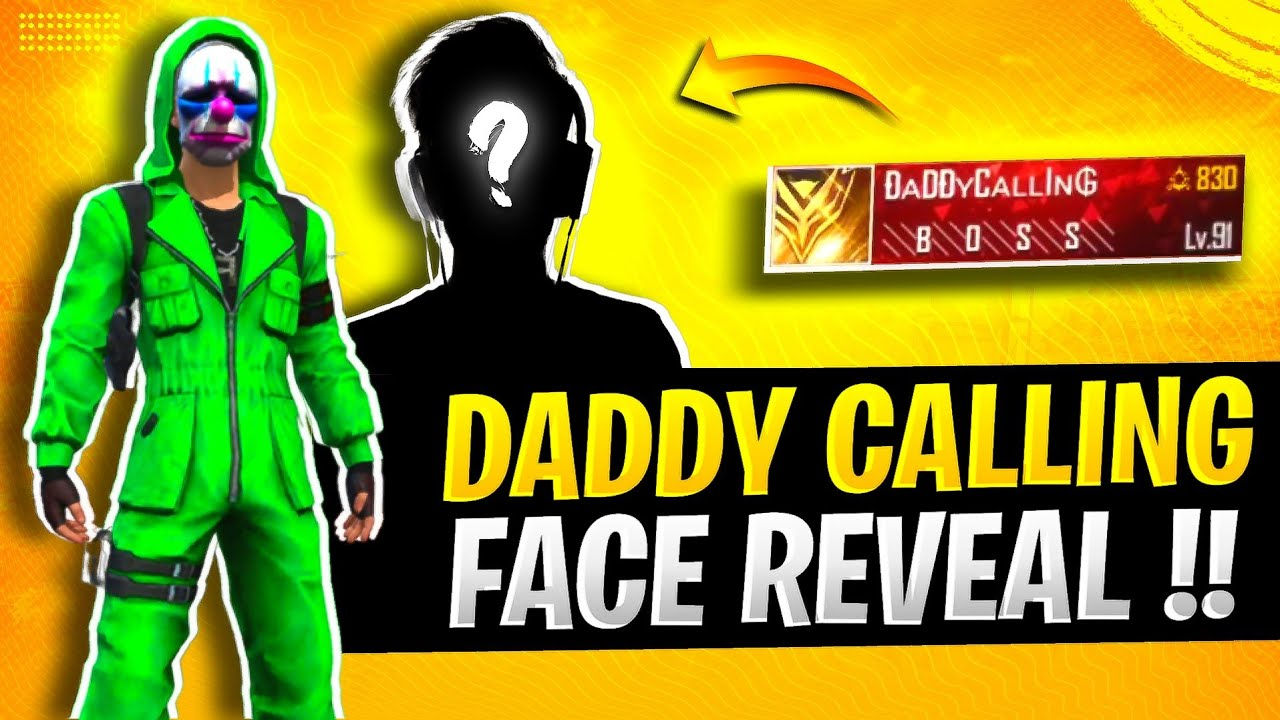 Why Daddy Calling Joined BOSS !! 😳❤️ FACE REVEAL of India's Highest level player 😱