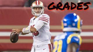 San Francisco 49ers 24, Los Angeles Rams 16: Grades