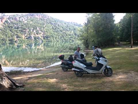scooter tour of Epirus greece (8/2015)