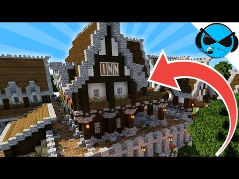 How To Build A Medieval Tavern Inn Minecraft Tutorial ► Minecraft Medieval Village - Part 5