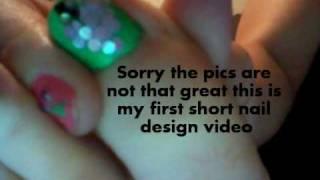 Shiny 3d Grape Nail Design Thumbnail