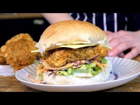 How To Make Vegan Fried Chicken With Seitan Bbc Good Food Youtube