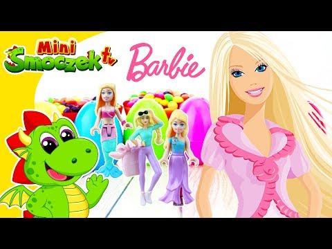 Laleczki Barbie, Kinder Jajka Niespodzianki I Barbie Mega Bloks Filmik Dla Dzieci Po Polsku
