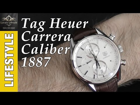 cdf05f99f2e Tag Heuer Carrera Calibre 1887 Automatic Chronograph Review - YouTube