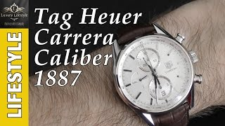 Tag Heuer Carrera Calibre 1887 Automatic Chronograph Review