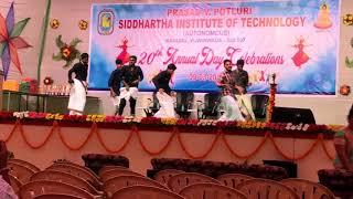 Annual day celebrations (2K18) PVPSIT Boys dance
