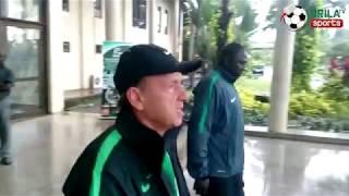 Super Eagles Train in Uyo ahead of Match against Zambia