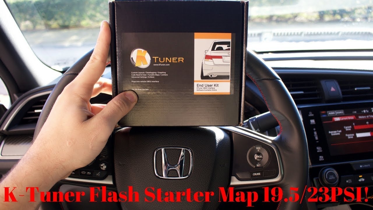 How To Flash Your ECU With KTuner **10th Gen Honda Civic**