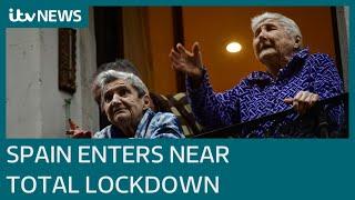 British tourists in limbo as Spain enters lockdown amid coronavirus outbreak   ITV News