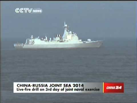 Day 3 of China, Russia naval exercises