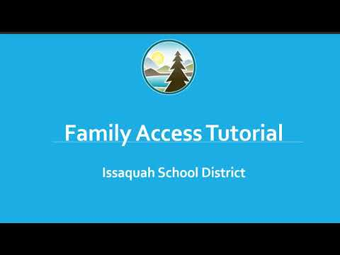 Preview image for ISD Family Access Tutorial