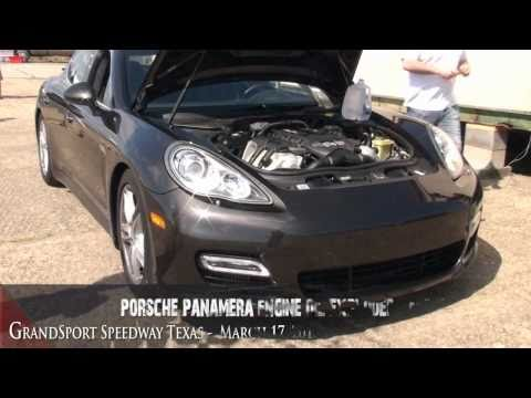 porsche panamera engine oil exploded Racing @ TX2K11