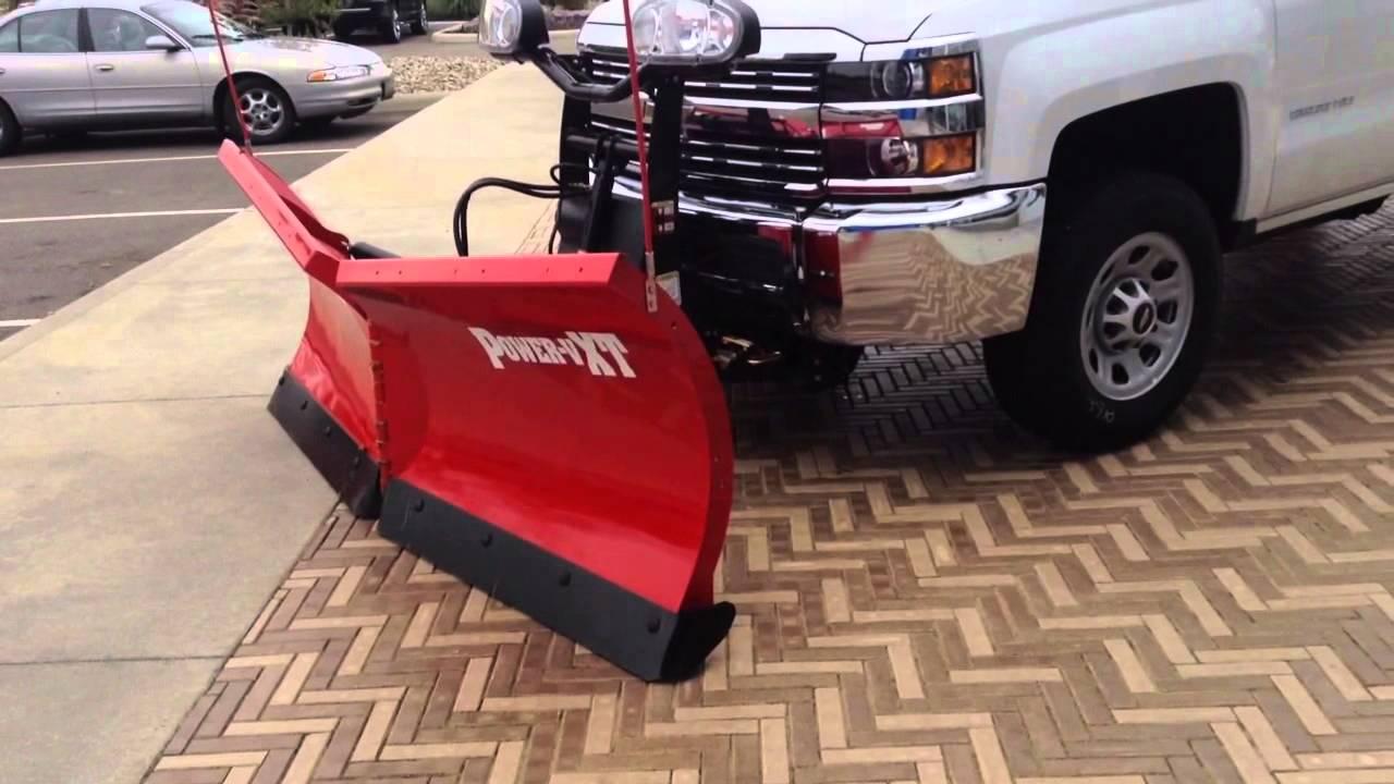 Chevy Silverado Hd 4wd W Boss V Plow 42 132