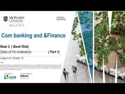 Risk of financial institutions ( Part 1)