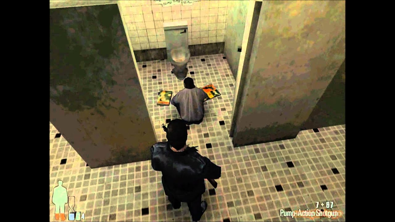 Max Payne 1 Bathroom Junkie Youtube