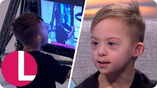 Child Model With Down's Syndrome Gives the Most Adorable Interview! | Lorraine