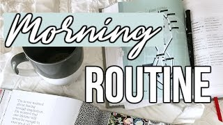 Productive High School Morning Routine 2018 | vlog style