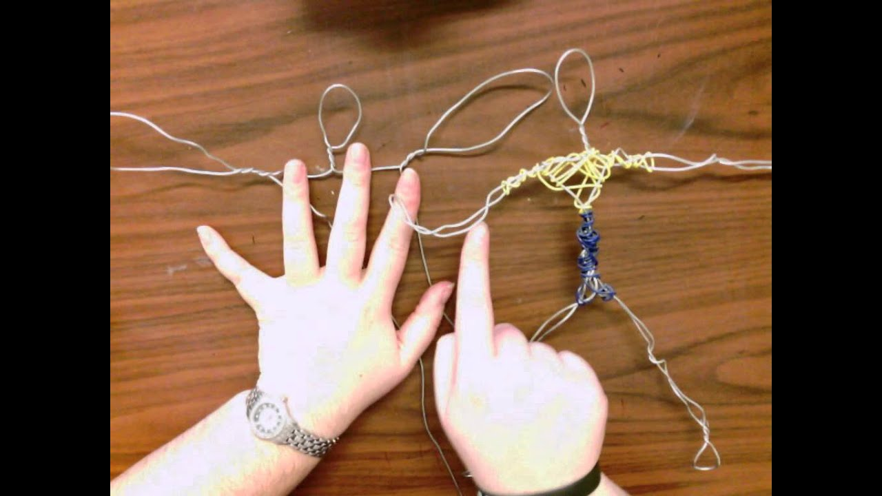 4th Wire Sculptures Basic Building The Amateur Youtube