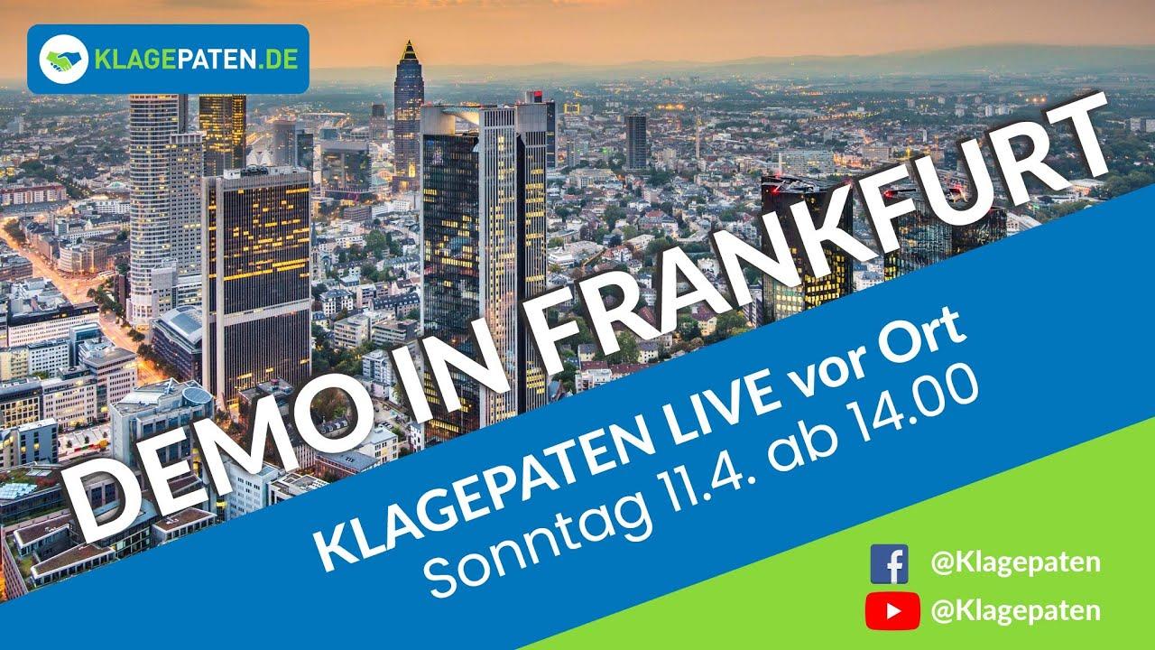 Demo Frankfurt LIVE Fortsetzung