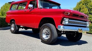 1966 Chevrolet Suburban for Sale w/ Newer Crate 350