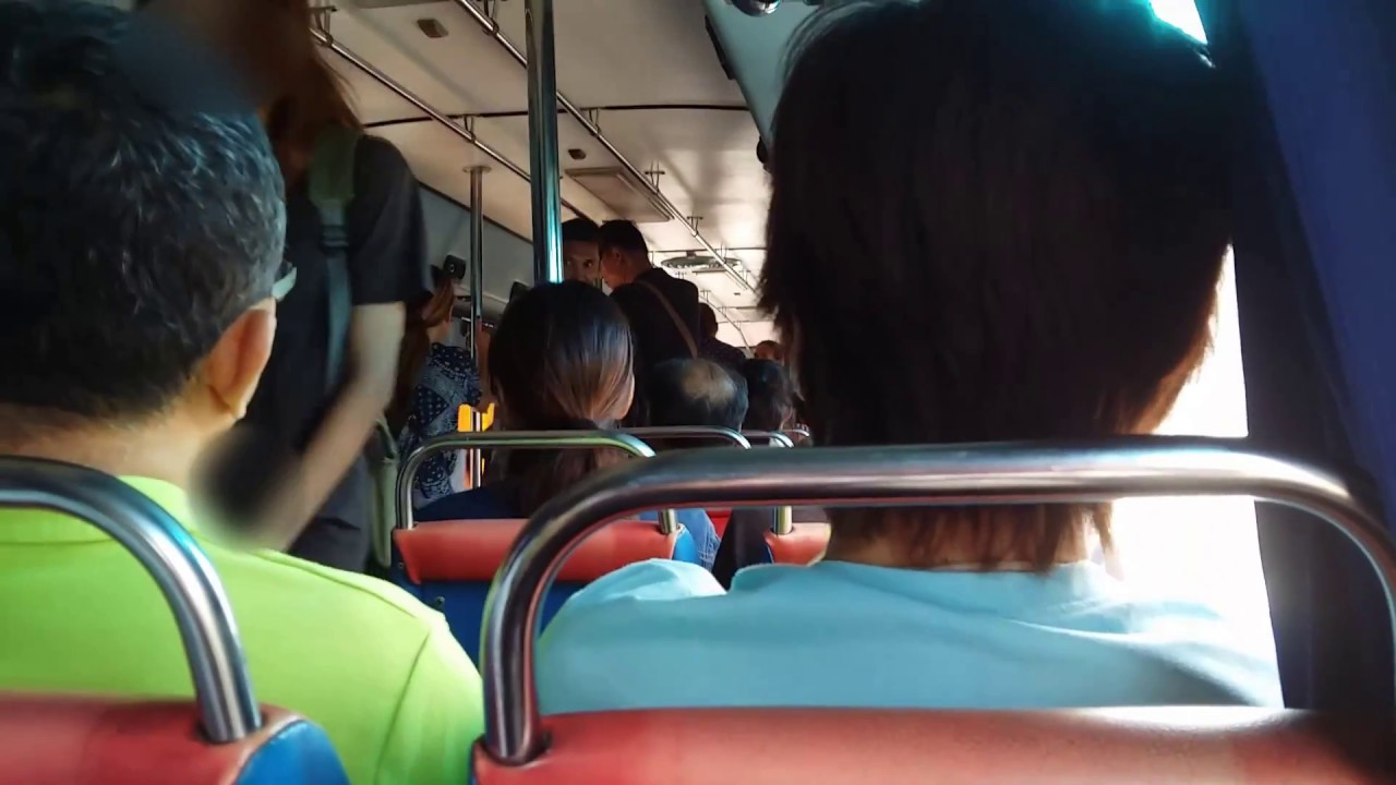 Bus Joyride! Bus Route 545 Nonthaburi From The Mall Ngamwongwan to Kaerai  Intersection