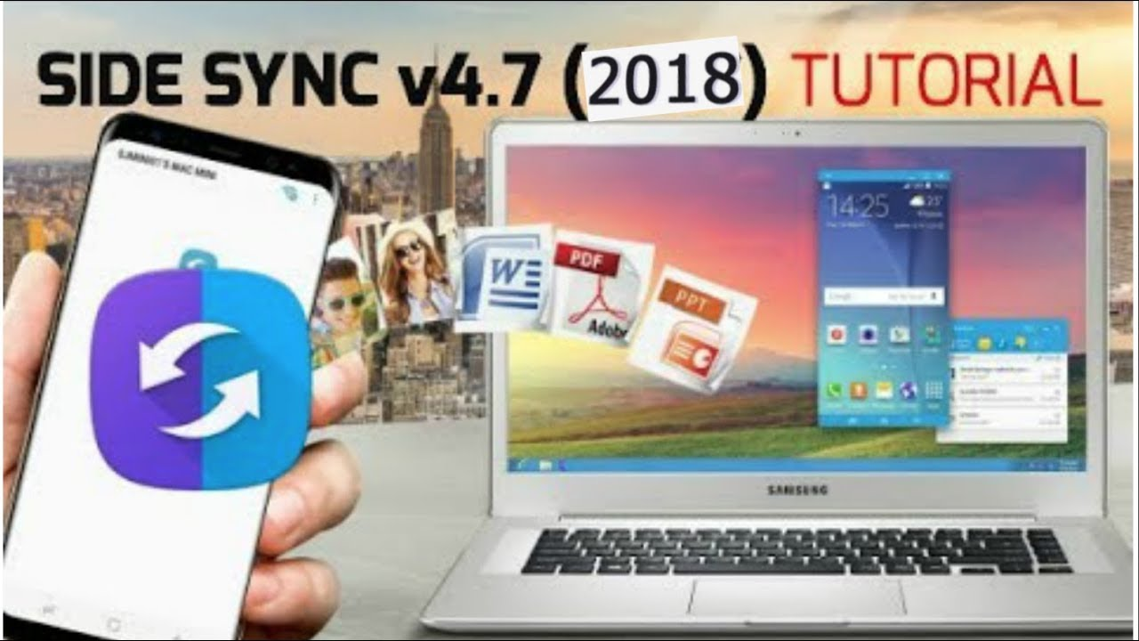 SIDE SYNC 4 7 Complete Guide !(2018) Convert your Mac or PC to Samsung  galaxy S8