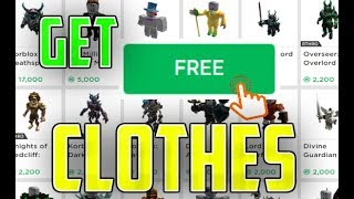 How To Get Free Roblox Clothes In 2019 | *FREE* CLOTHES IN ROBLOX 2019!!