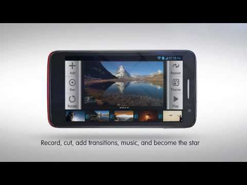 ALCATEL ONE TOUCH SCRIBE HD DUAL Smartphone / Smartphone - Product video Vandenborre.be