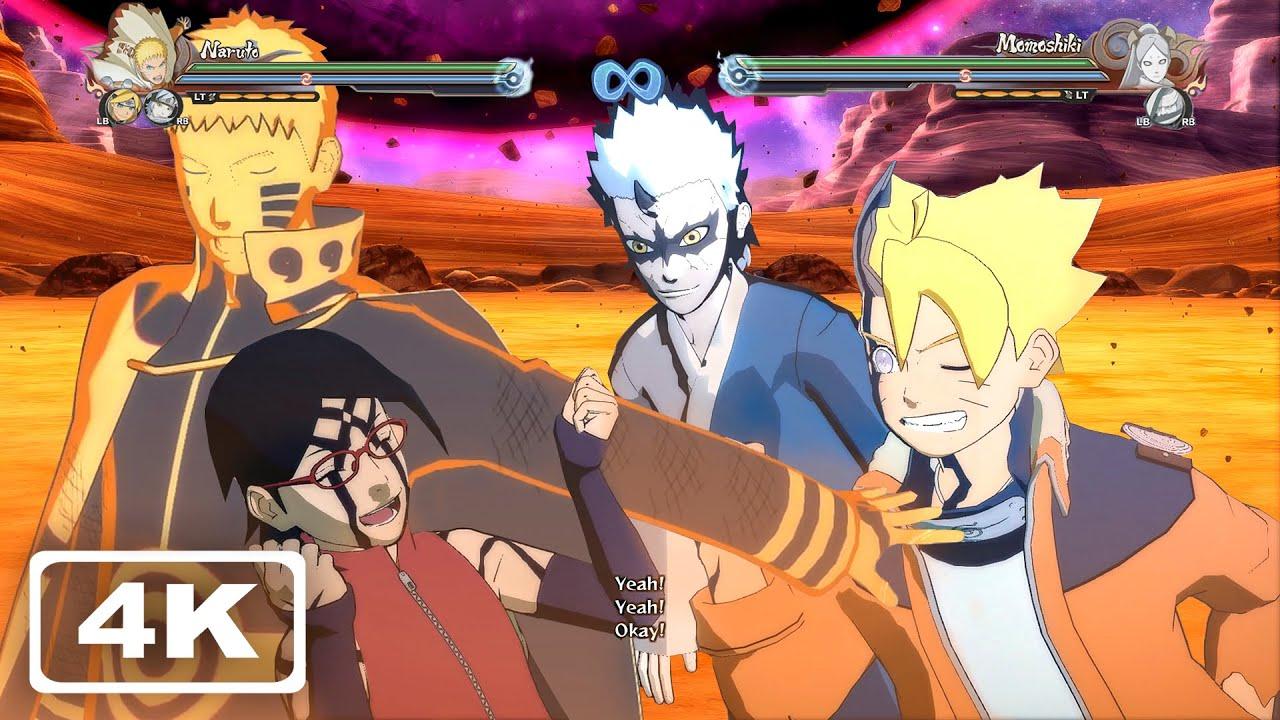 All Team Ultimate Jutsus (4K 60fps) Naruto Storm 4 Next Generations