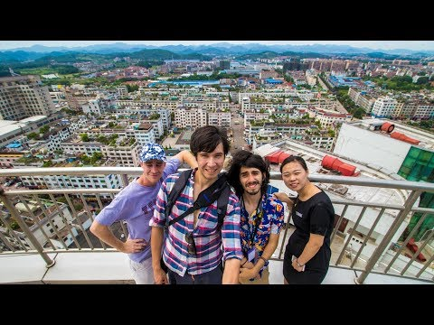 Stuck on a Roof in China! | First Day Exploring Yongkang and Getting Balled Up by Locals