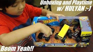 Hot Wheels Toys: Unboxing Fan Favorites 3 Monster Jam Trucks