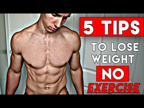 How To Lose Weight Without Exercise At Home (FAST AND EASY WITH NO WORKOUTS)