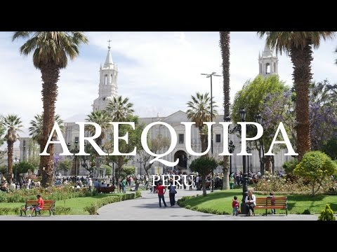 Beautiful Arequipa Peru