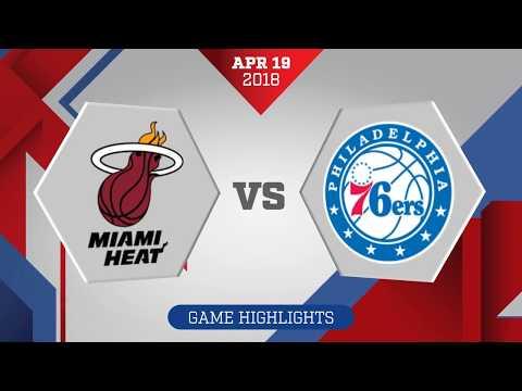 Philadelphia 76ers vs. Miami Heat Game 3: April 19, 2018