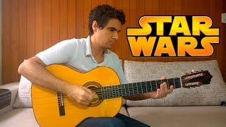 May The Force Be With You (The Force Theme - Star Wars) - Fingerstyle Guitar (Marcos Kaiser) #36