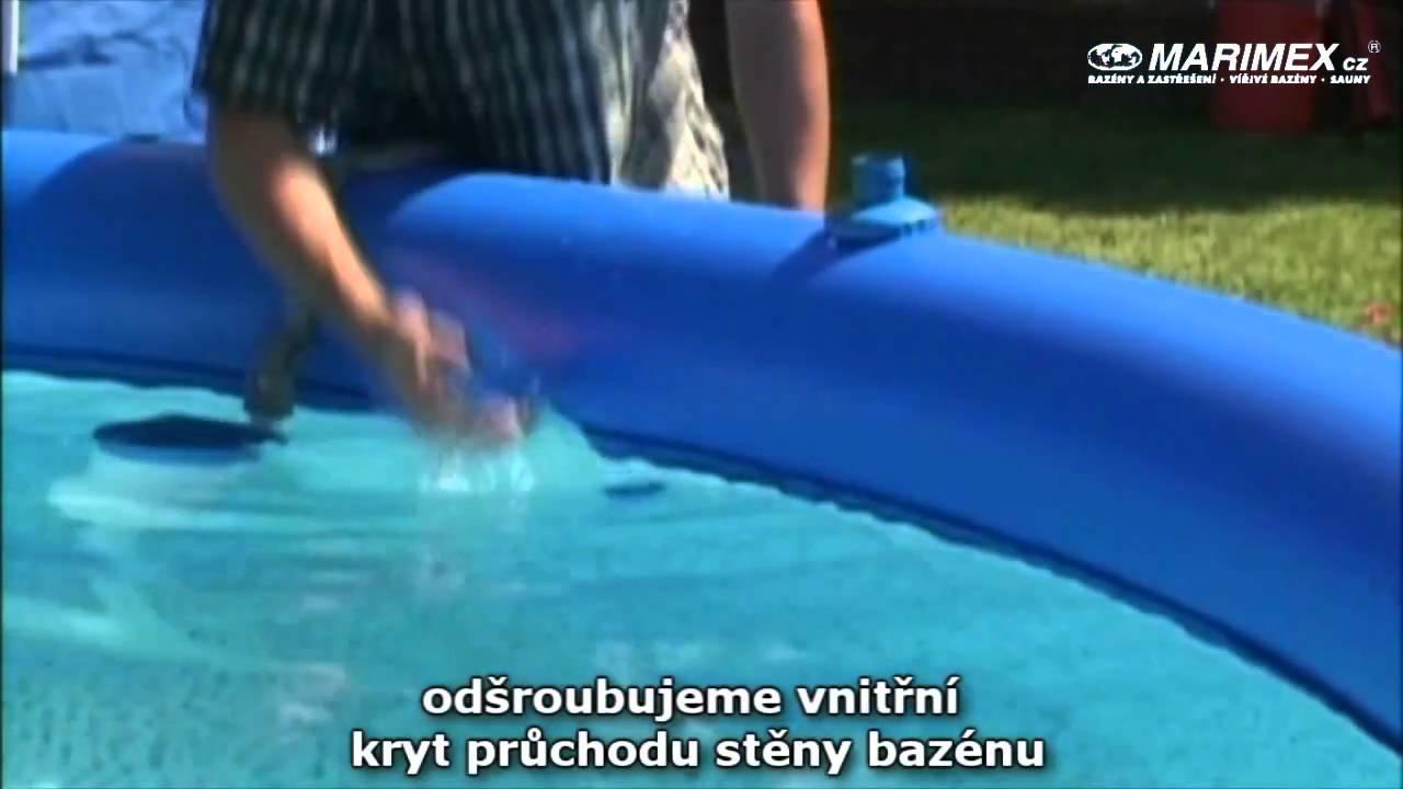 Skimmer pro bazény Tampa - YouTube