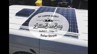 Solaranlage selbst installieren mit Road and Board - Selbstausbau zum Wohnmobil