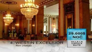 najskuplji hoteli na svetu