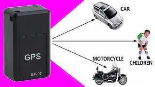 GF07 Mini GPS Car Locator Magnetic Tracker