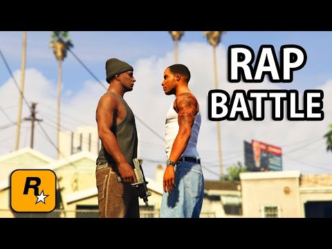 GTA V - CJ vs OG Loc [Rap Battle] PART 2