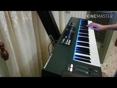 Repeat Rammstein - Sonne Live version only on keyboard with